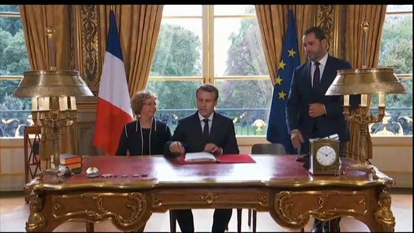 L'Europa secondo Macron