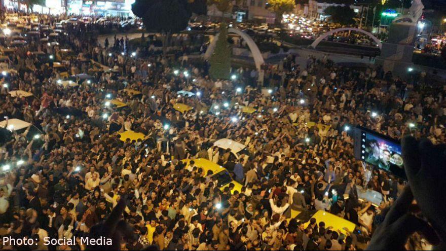 استقبال کردستان ایران از همه پرسی در اقلیم کردستان عراق