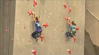 """شاهد: """"تسلق الجدران"""" رياضة جديدة في الألعاب الأولمبية 2020"""