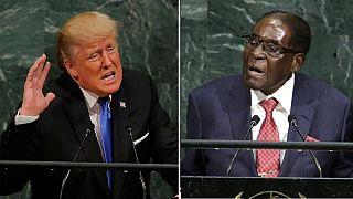 'David' Mugabe stood up to 'Goliath' Trump at U.N. - Zimbabwe veep