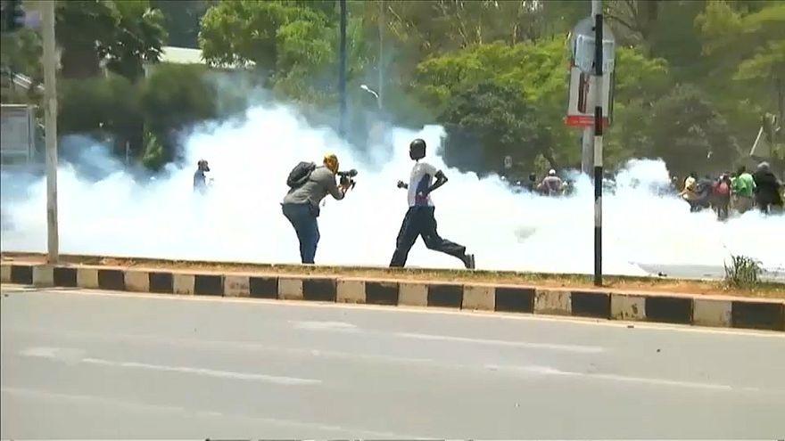 الشرطة الكينية تفرق بالقوة مظاهرة للمعارضة