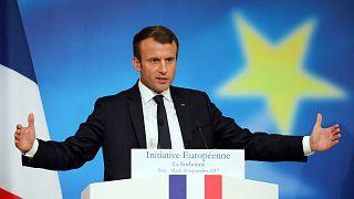 Макрон о будущем ЕС