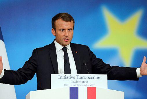 """Il progetto per la """"nuova Europa"""" del presidente francese Macron (rivedi l'intero discorso)"""