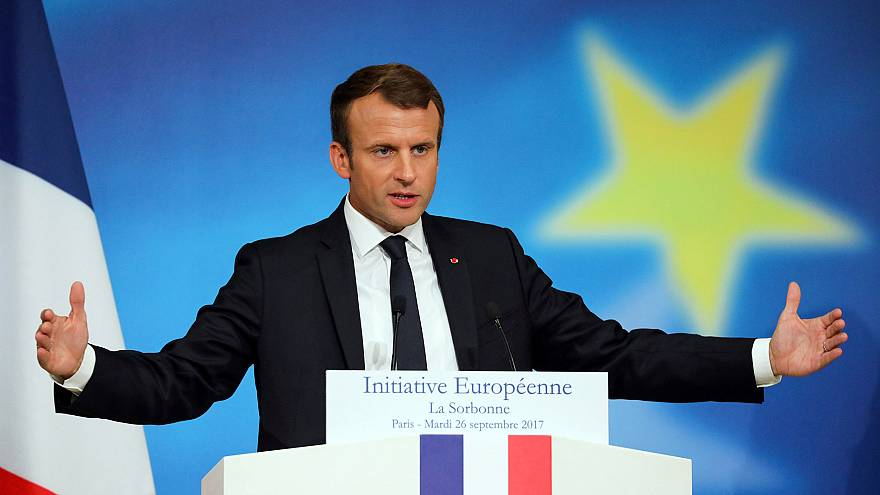 Macron outlines sweeping EU reform plans
