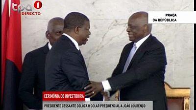 Angola begins post-dos Santos era as Lourenco is officially sworn in