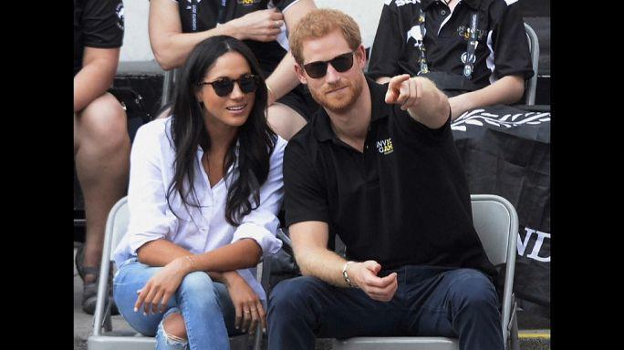 Königliches Kuscheln: Prinz Harry (33) und Meghan Markle (36) ganz eng