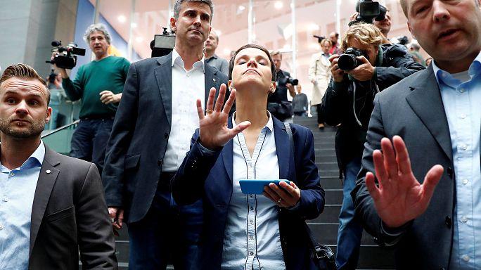 Sie ist dann mal weg: AfD-Chefin Petry lässt ihre Partei sitzen