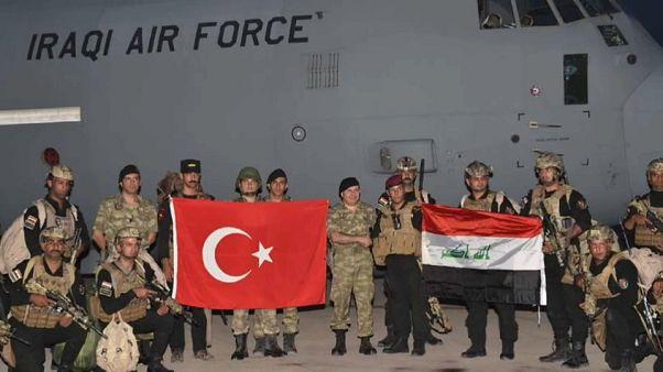 Habur Sınır Kapısı'ndaki tatbikata Iraklı askerler de katıldı