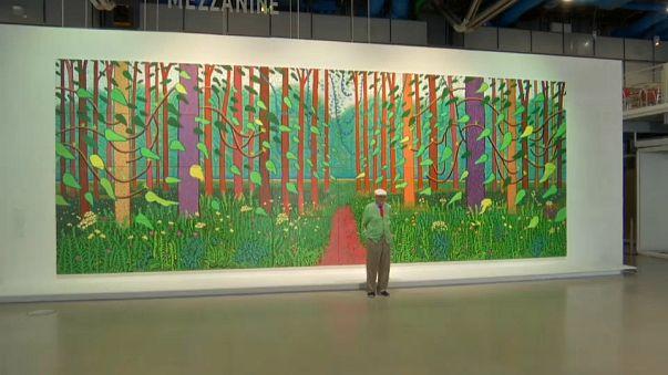 Le cadeau monumental de David Hockney à Paris