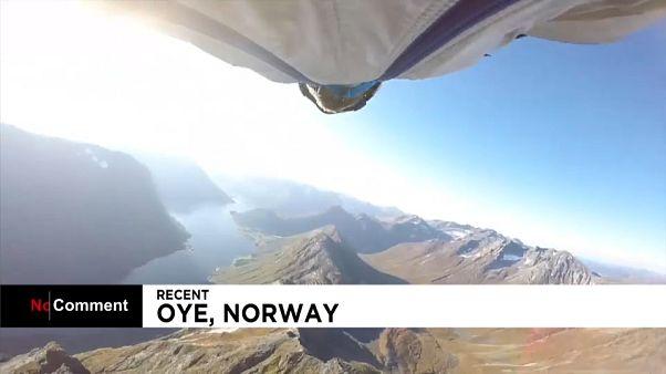 Yarasa kanatlarla Norveç fiyortları arasında