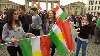 Kurden in Berlin für Unabhängigkeit