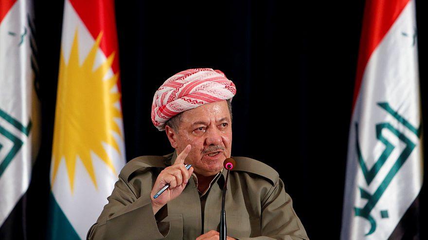 برزاني يقول الأكراد أيدوا الاستقلال ويدعو بغداد للحوار