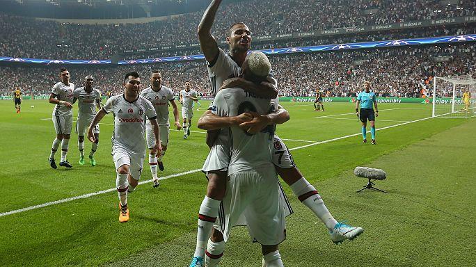 Beşiktaş Şampiyonlar Ligi'nde yüksekten uçuyor