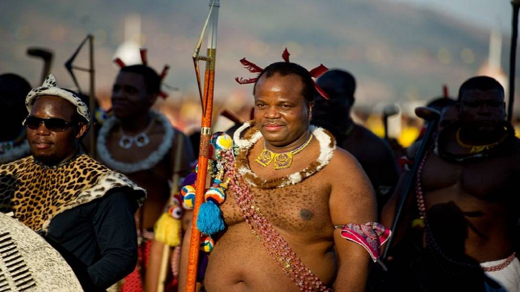 Image result for king mswati of swati pic