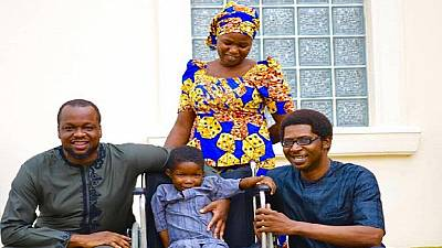 5-year-old Chibok boy paralyzed after brutal Boko Haram attack healed
