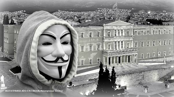 Anonymous Grecia piratea 2.500 archivos del banco central