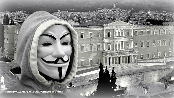 Görög bank a hekkerek célkeresztjében