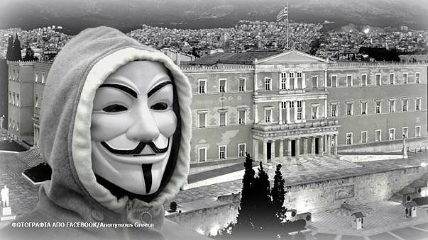 Anonymous Grecia piratea 2.500 archivos del banco central