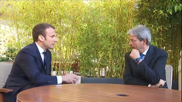 Tersane krizinin çözümü için Macron ile Gentiloni görüşecek