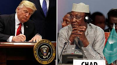 A.U. shocked at Chad's inclusion on U.S. travel ban, Ndjamena fires threat