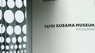 Ünlü sanatçı Kusama 88 yaşında keni müzesini açtı