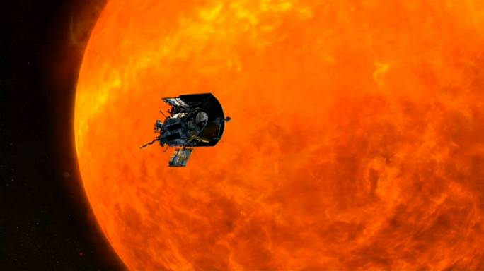 NASA apresenta escudo térmico da Parker