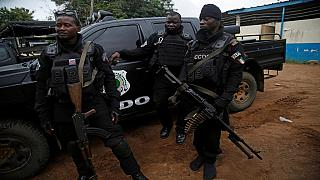 Weapons seized in Abidjan police station attack