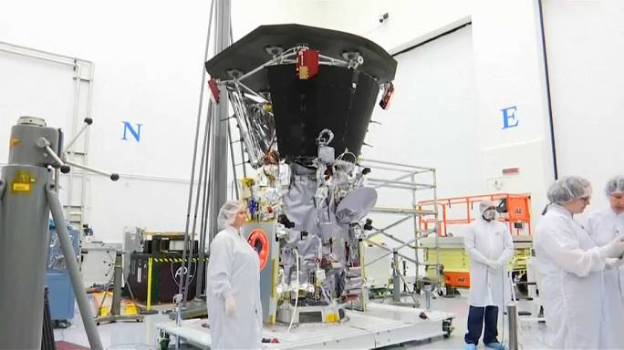 Sonda solar Parker já tem escudo térmico