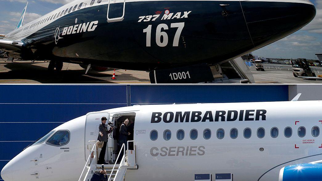 Guerra aberta entre Bombardier e Boeing