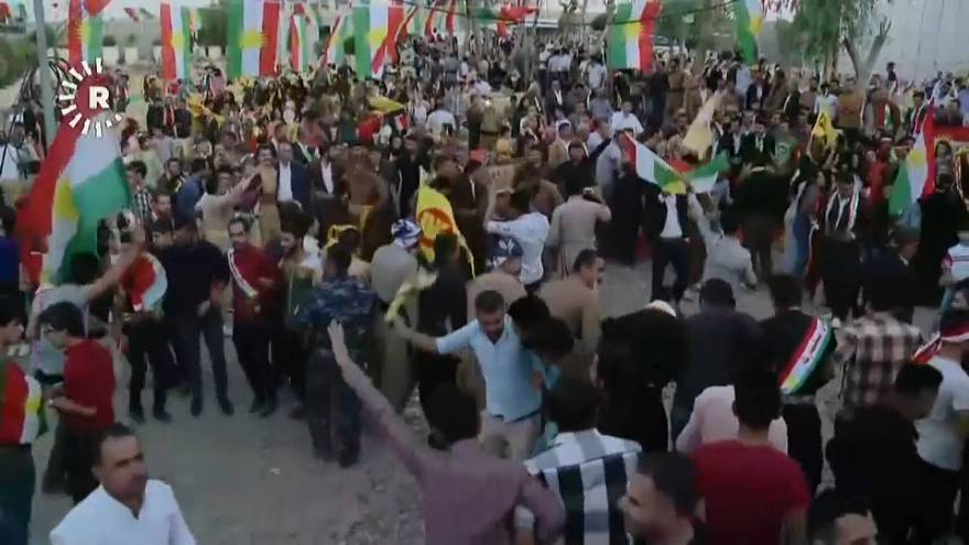 Iraqi Kurds vote overwhelmingly in favour of independencce