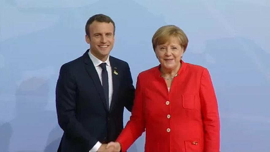 Macron confiante no fortalecimento do eixo franco-alemão
