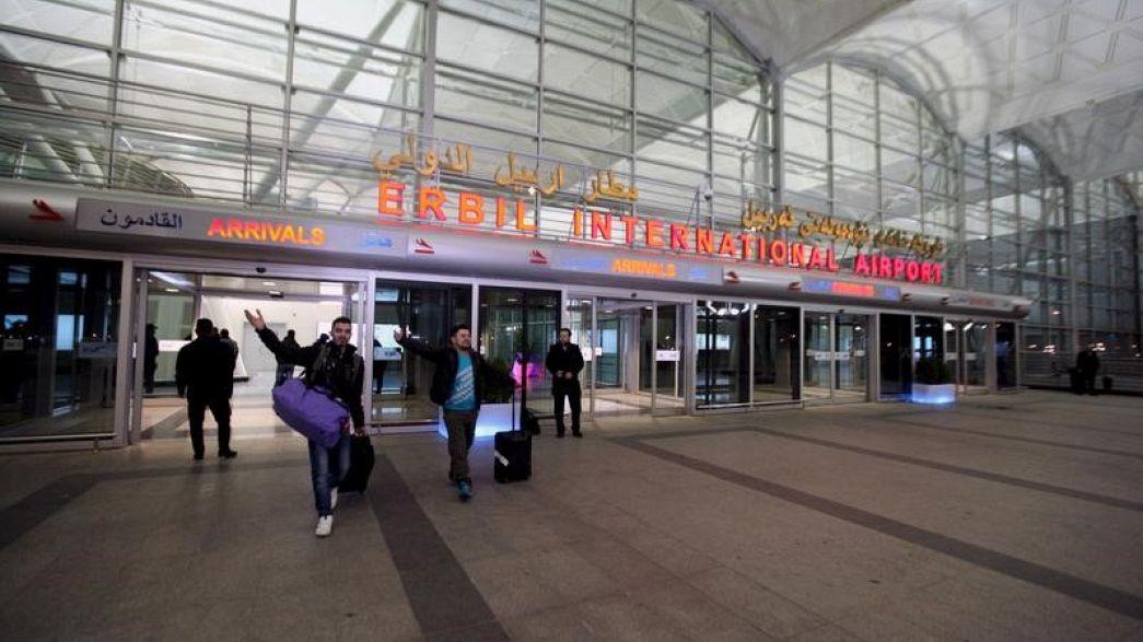 تعليق الرحلات نحو مطارات إقليم كردستان