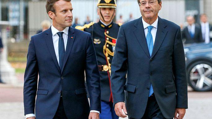 """Paris e Roma alinhados em """"refundar"""" a Europa"""