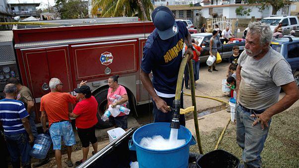 Porto-riquenhos em desespero
