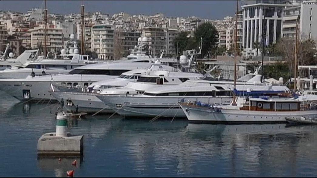 Batalha naval entre a Grécia e a Turquia