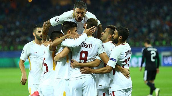 Karabağ, Roma'ya 2-1 yenildi