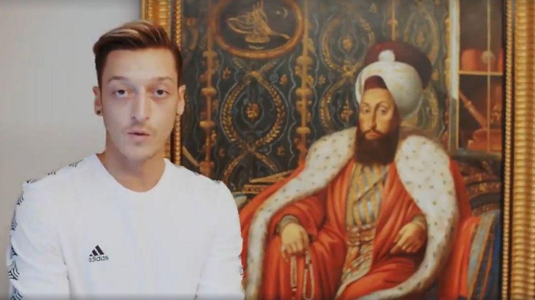 Mesut Özil'den 'Fatih Sultan Selim' gafı