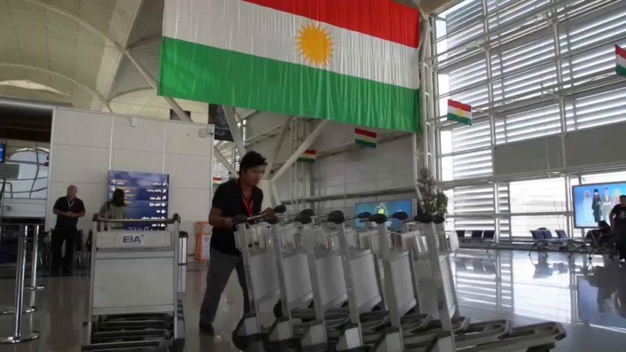Ligações aéreas para Erbil em risco