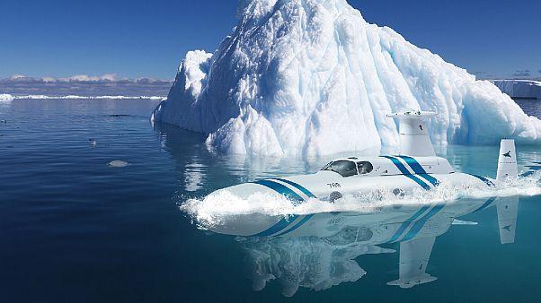 Zenginler için lüks denizaltı