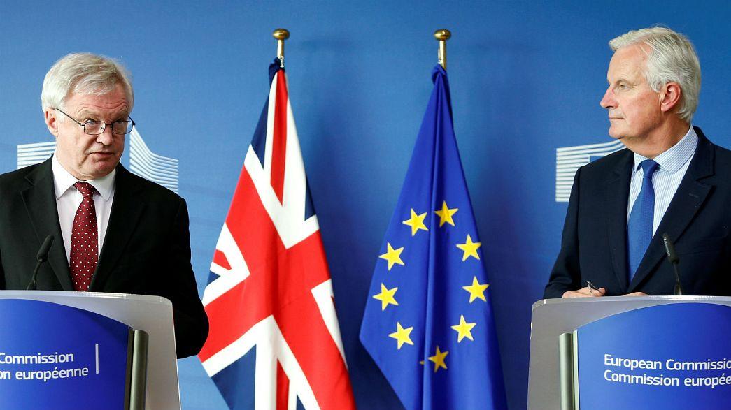 """Avances y """"nueva dinámica"""" en las negociaciones del 'brexit'"""