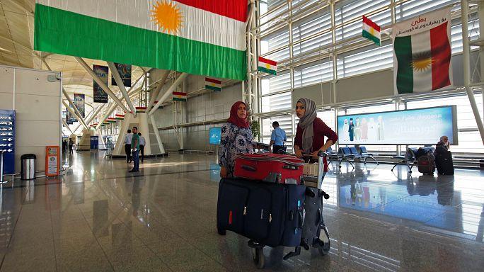 بغداد تقرر الغاء جميع الرحلات الدولية من وإلى مطار أربيل