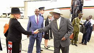 Amid Uganda's age limit chaos, Museveni in Brussels for official visit