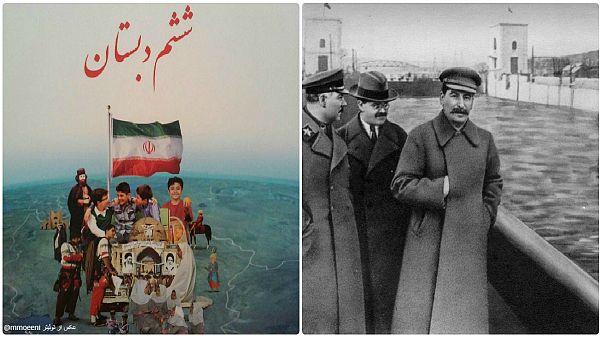 دستکاری در عکسهای تاریخی؛ از استالین تا خامنهای