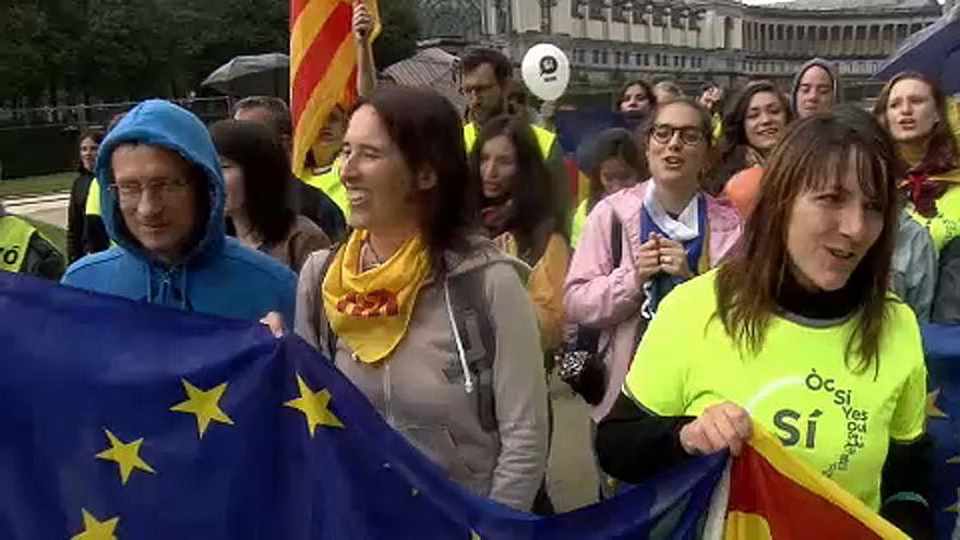 Cataluña busca el reconocimiento de Europa