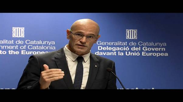 Catalunha à procura de apoio na Europa