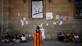 Piolín, símbolo del referéndum en Cataluña
