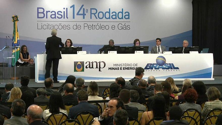 Brasil arrecada mil milhões na exploração de petróleo e gás