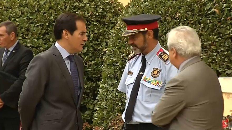 Katalanische Polizei zwischen den Fronten