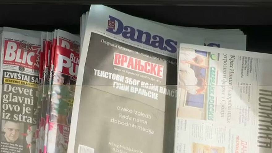 Az elnöktől féltik a szabad sajtót Szerbiában
