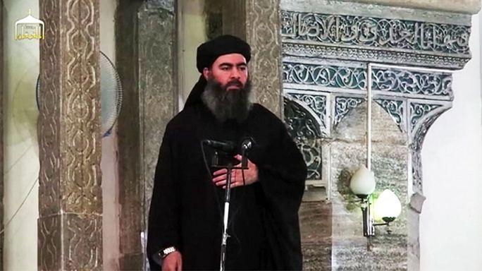 داعش تصدر تسجيلا منسوبا للبغدادي مجهول التاريخ